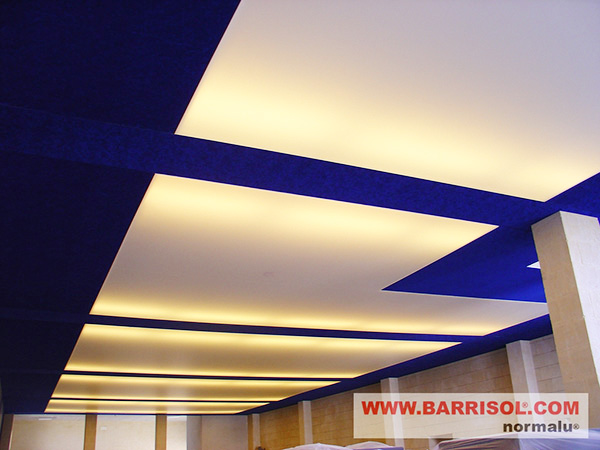 fluorescent tube barrisol lighting