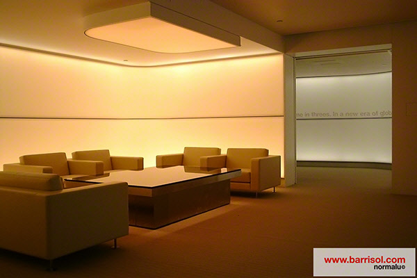 barrisol lighting wall barrisol lighting