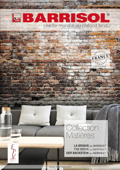 Collection MatièresThe Brick by BARRISOL®