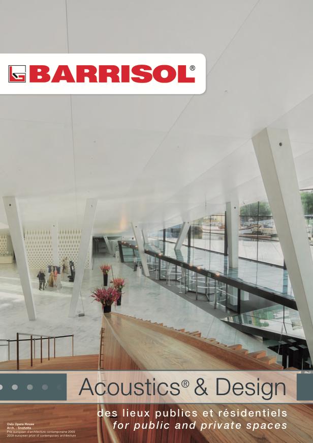 BARRISOL Acoustics® & Design