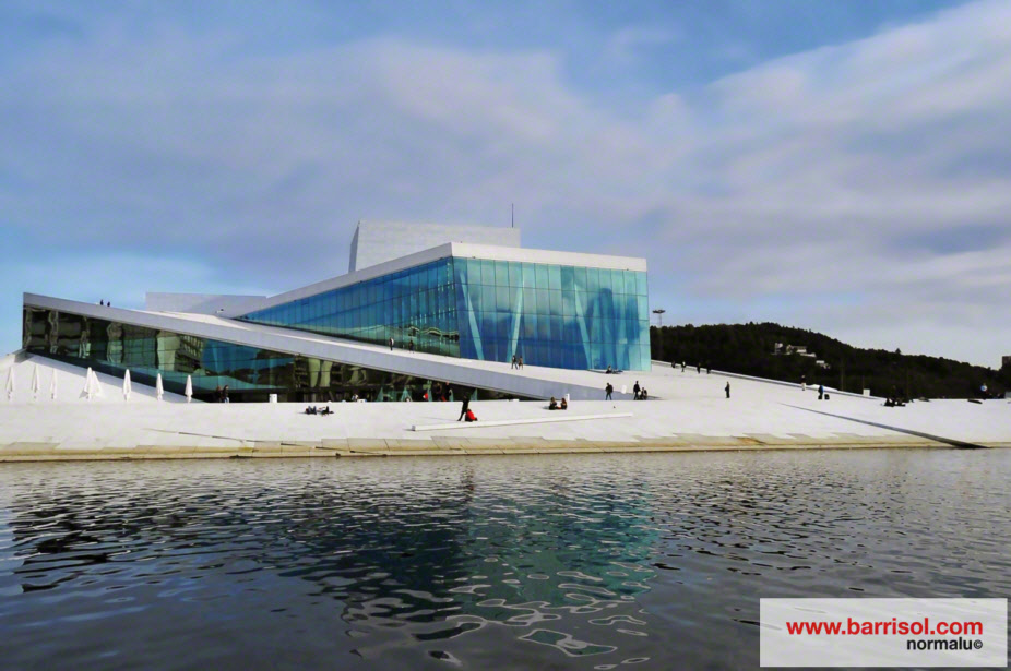 Opera house of Oslo <br><p style='text-transform: uppercase; color: #6F6F6F;'>Norway</p>