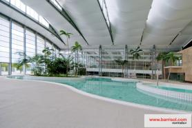 Swimming pool of Mesnil Amelot