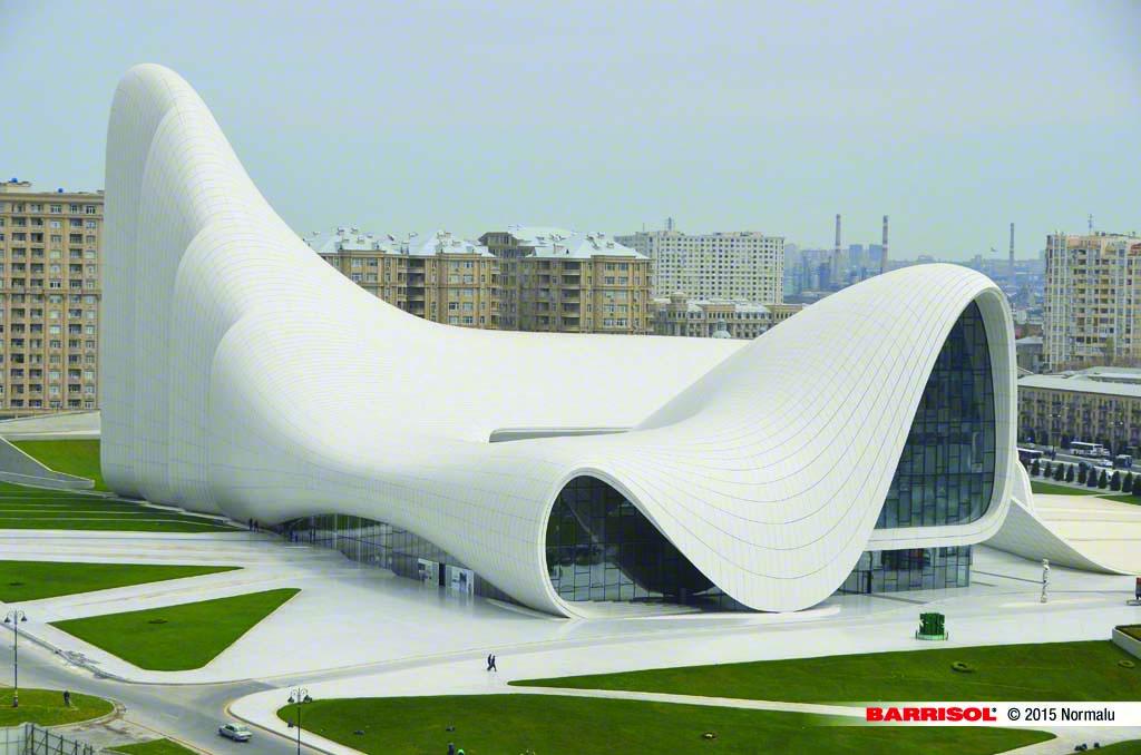 Heydar-Aliyev Center <br><p style='text-transform: uppercase; color: #6F6F6F;'>Azerbaijan</p>