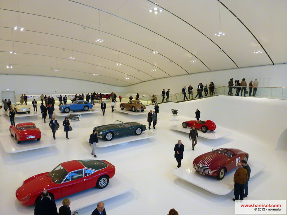 Museum of Enzo Ferrari – Italy <br><p style='text-transform: uppercase; color: #6F6F6F;'>Italy</p>