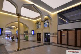 Railway station of Wrocław