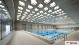 Aquatics centre, London