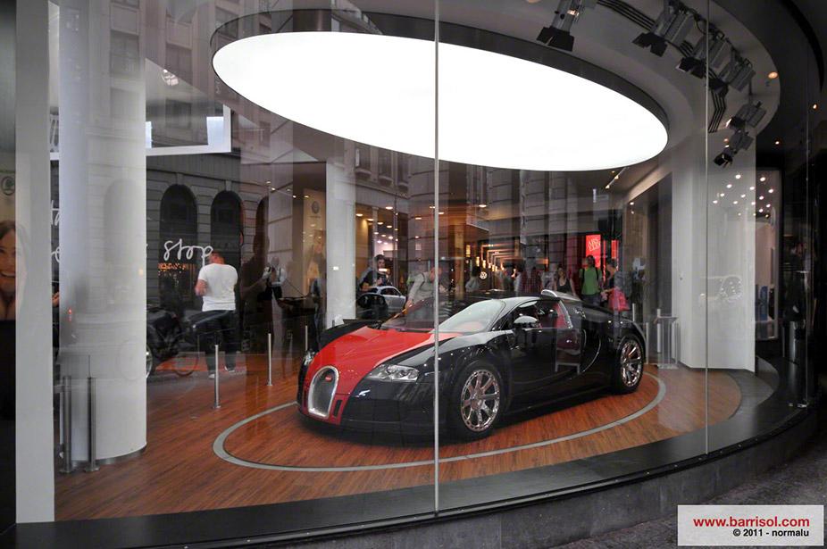 Bugatti showroom <br><p style='text-transform: uppercase; color: #6F6F6F;'>Germany</p>