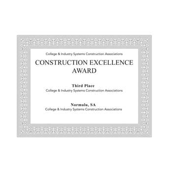 CONSTRUCTION EXCELLENCE AWARD