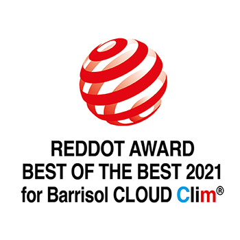 REDDOT BEST OF THE BEST 2021 for Barrisol Cloud Clim®