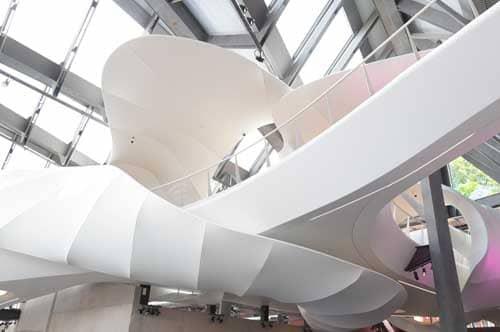 Nestlé Museum with 3D strech ceiling