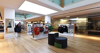 Barrisol Lumière® in the Microsoft HQ Store in Seattle, USA