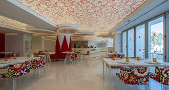 Petals, flowers and Barrisol® Light for the Five Flowers hotel in Formentera in Spain
